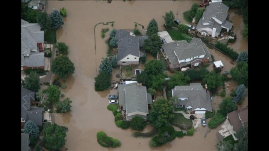 Colorado Flood Destroyed Homes